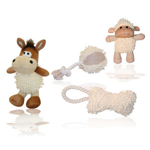 Shaggy Dog-Toy Set