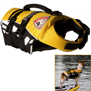 Ezydog - Dog Float Vest Seadog Yellow Micro