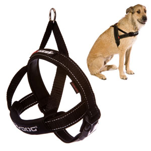 Ezydog - Quick Fit Dog Harness Black