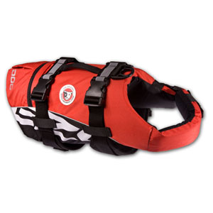 Ezydog - Dog Float Vest Seadog Red
