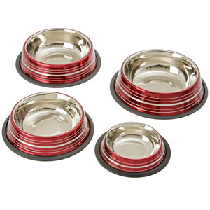 Stainless Steel Super Bowl Dog Bowls
