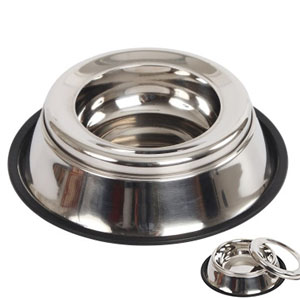 Stainless Steel Bowl Anti-Splash - 900ml
