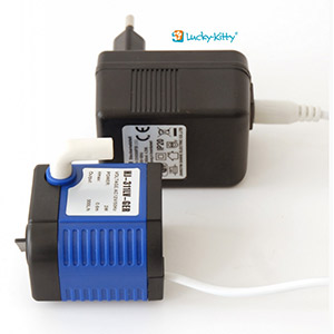 Lucky-Kitty Water Pump HJ-311-LV-GER incl. Power Supply