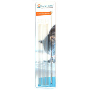 Lucky-Kitty Hose Set With Brush