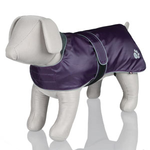 Dog Coat Orleans - Purple, M, 45cm