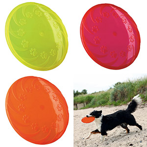 Dog Disc Floatable TPR - 18cm